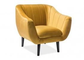 Кресло Elite Velvet 1 Карри
