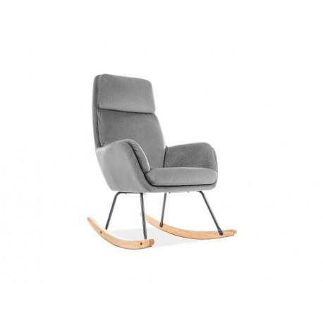 thumb Кресло качалка Hoover Velvet Серый 1