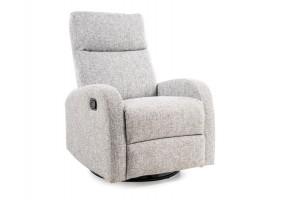 Кресло реклайнер раскладное Olimp Серый