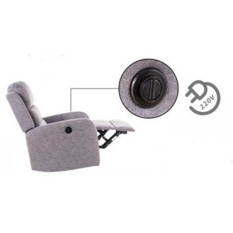 thumb Кресло раскладное Pegaz Серый 2