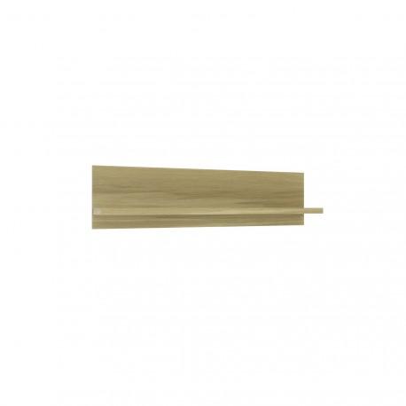 thumb Fusion G Intarsio Полочка навесная 140,2х35 см Дуб скальной + слоновая кость 1