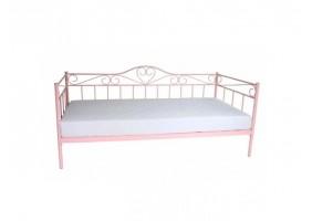 Односпальная кровать Birma 90X200 Розовый