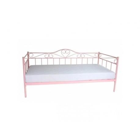 thumb Односпальная кровать Birma 90X200 Розовый 1