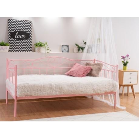 thumb Односпальная кровать Birma 90X200 Розовый 2