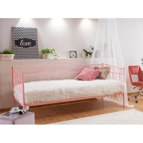 thumb Односпальная кровать Birma 90X200 Розовый 3