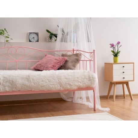 thumb Односпальная кровать Birma 90X200 Розовый 4
