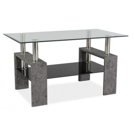 thumb Журнальный стол Lisa III Серый /Лак 1