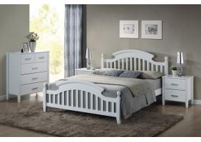 Кровать полуторная Lizbona 140X200 Белый