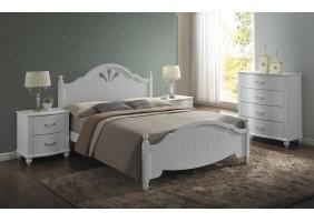 Двуспальная кровать Malta 160X200 Белый