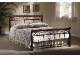 Двуспальная кровать Venecja 160X200 Черешня античная