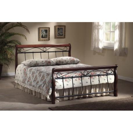 thumb Двуспальная кровать Venecja 160X200 Черешня античная 1