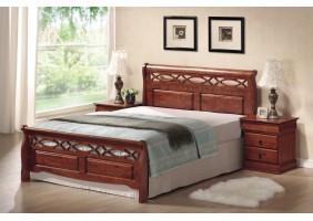 Двуспальная кровать Genewa 160X200 Черешня античная