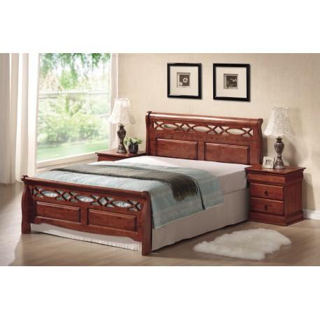 thumb Двуспальная кровать Genewa 160X200 Черешня античная 1