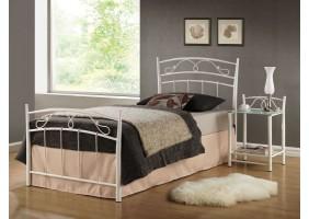 Односпальная кровать Siena 90X200 Белый