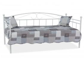 Односпальная кровать Ankara 90X200 Белый