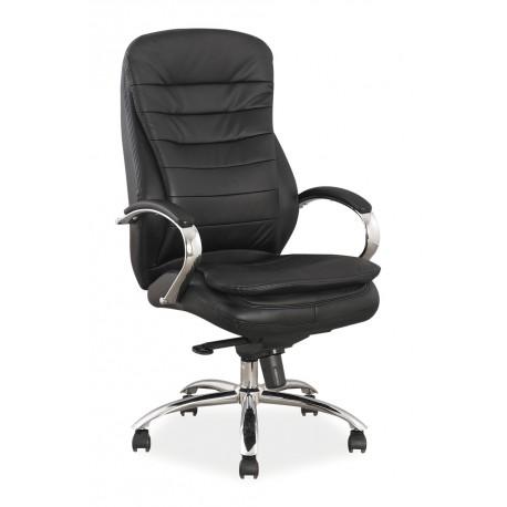 thumb Кресло Q-154 Черный Кожа / Экокожа 1