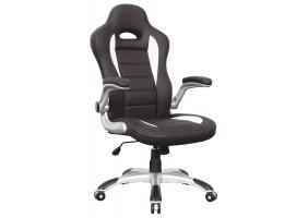 Кресло Q-024 Черно-белый