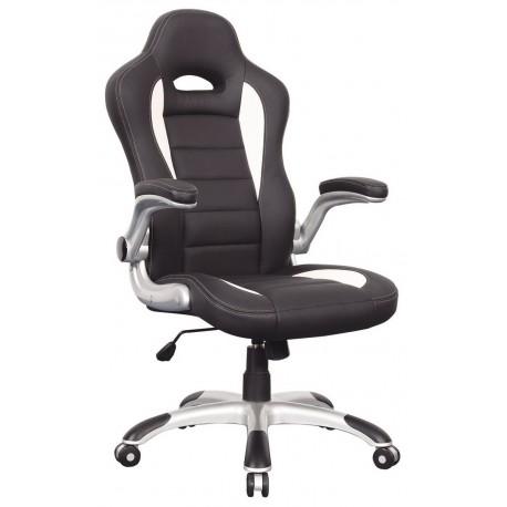 thumb Кресло Q-024 Черно-белый 1