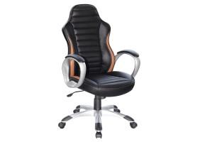 Кресло Q-112 Черный / Коричневый