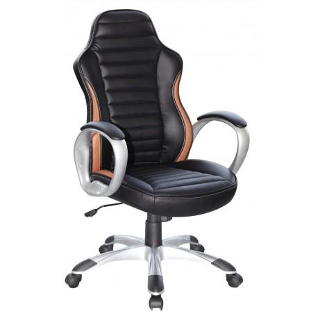 thumb Кресло Q-112 Черный / Коричневый 1