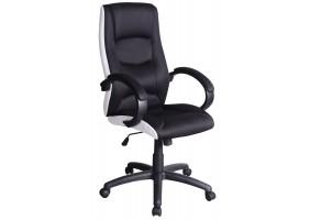 Кресло Q-041 Черный / Белый