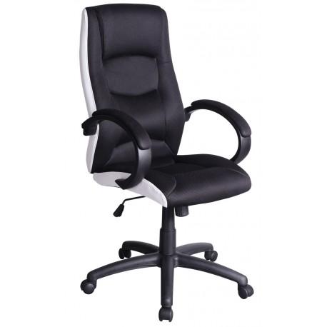 thumb Кресло Q-041 Черный / Белый 1