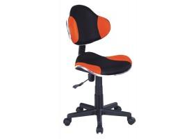 Кресло Q-G2 Оранжевый/Черный