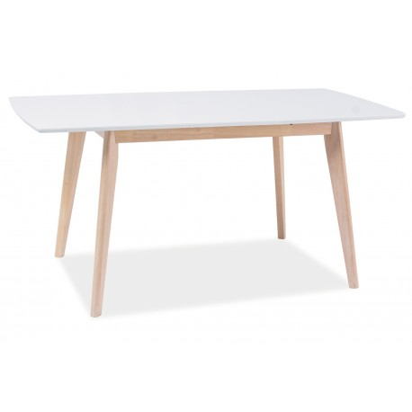 thumb Стол обеденный Combo II Белый/Дуб беленый 120(160)X80 1