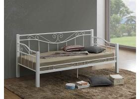 Односпальная кровать Kenia 90X200 Белый