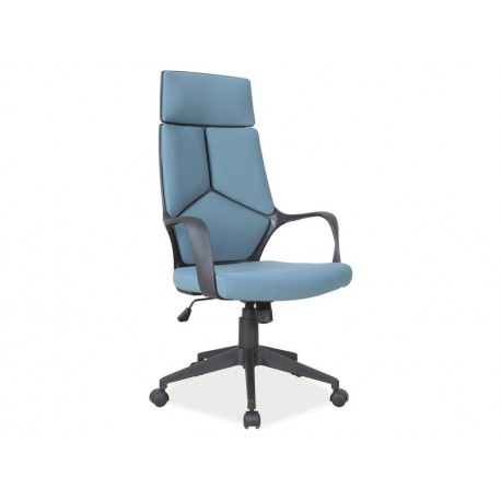 thumb Кресло Q-199 Голубой / Черный каркас 1