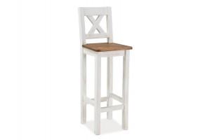 Барный стул Poprad H-1 Коричнево-медовый