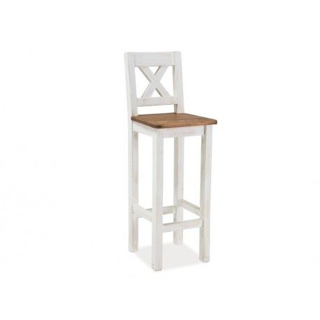 thumb Барный стул Poprad H-1 Коричнево-медовый 1