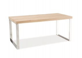 Журнальный стол Rosa Дуб сонома/хром