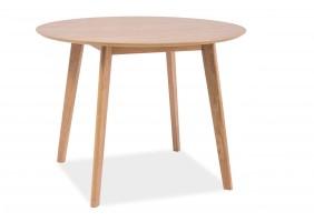 Стол обеденный Mosso II 75х100х100 Дубовый шпон