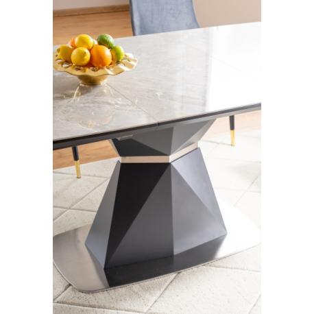 thumb Стол обеденный Cortez Ceramic 90X160 Серый Эффект мармура 4