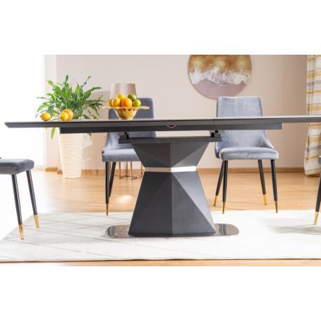 thumb Стол обеденный Cortez Ceramic 90X160 Серый Эффект мармура 3