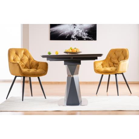 thumb Стол обеденный Cortez Ceramic 90X160 Серый Эффект мармура 9