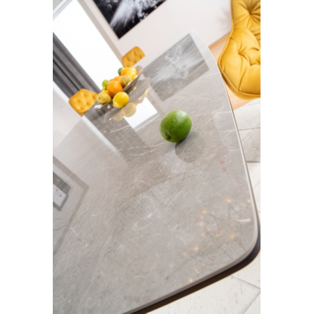 thumb Стол обеденный Cortez Ceramic 90X160 Серый Эффект мармура 8