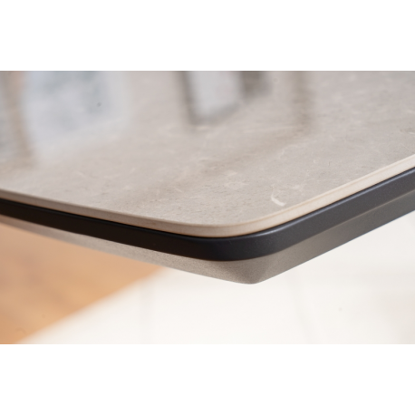 thumb Стол обеденный Cortez Ceramic 90X160 Серый Эффект мармура 6