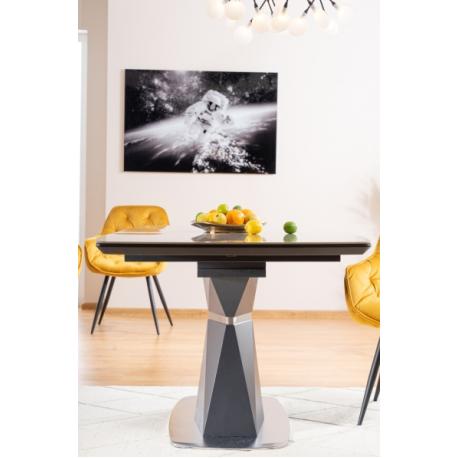 thumb Стол обеденный Cortez Ceramic 90X160 Серый Эффект мармура 5