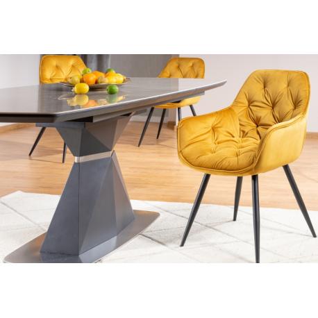 thumb Стол обеденный Cortez Ceramic 90X160 Серый Эффект мармура 7