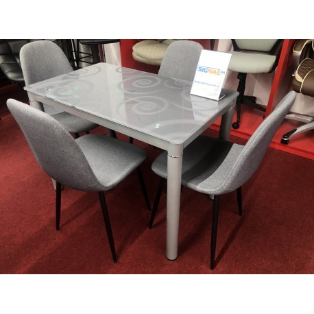 thumb Стол обеденный Damar 100 x 60 см Серый 3