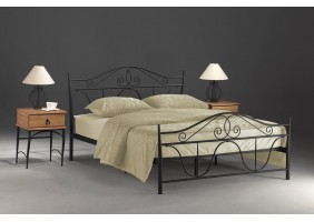 Двуспальная кровать Denver 160X200 Черный