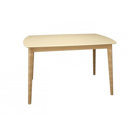 thumb Exen Intarsio Стол обеденный 120х80 см Кремовый 3
