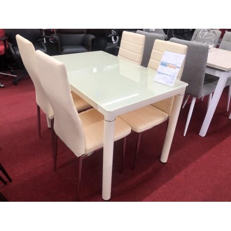 thumb Стол обеденный Galant 110 x 70 см Кремовый 2