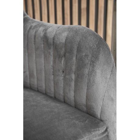 thumb Кресло Elina Velvet Серый/Черный 15