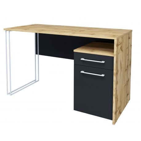 thumb Компьютерный стол Orion Black Дуб Тахо/Черный правый 3