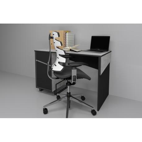 thumb Компьютерный стол Tech Индастриал/Черный левый 2