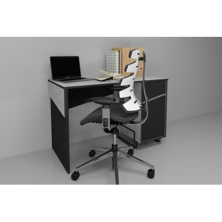 thumb Компьютерный стол Tech Индастриал/Черный правый 1