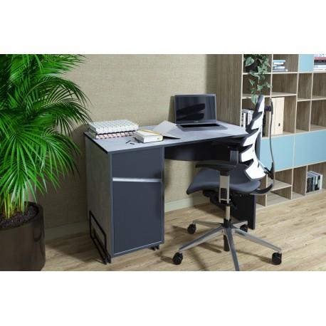 thumb Компьютерный стол Tech Индастриал/Черный левый 1